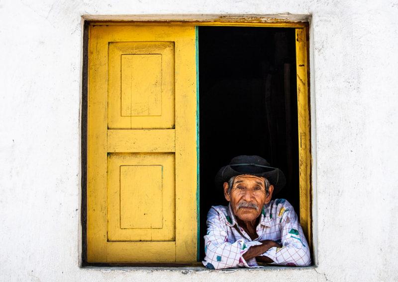 Village of PanaJab - Santiago Atitlan, Guatemala, in October, 2005 after Hurrican Stan
