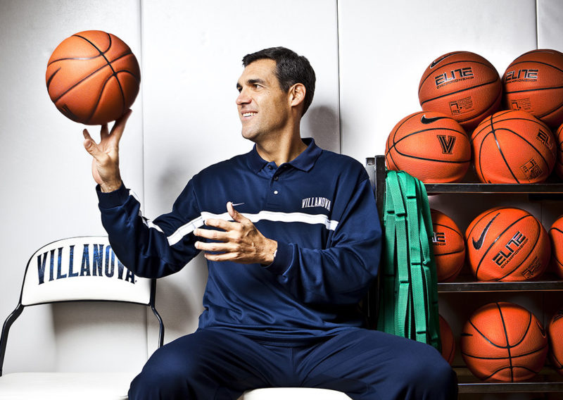 Coach Jay Wright of Villanova Basketball shot for Philadelphia Magazine