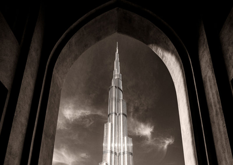 burj Khalifa Dubai UAE photography by Shea Winter