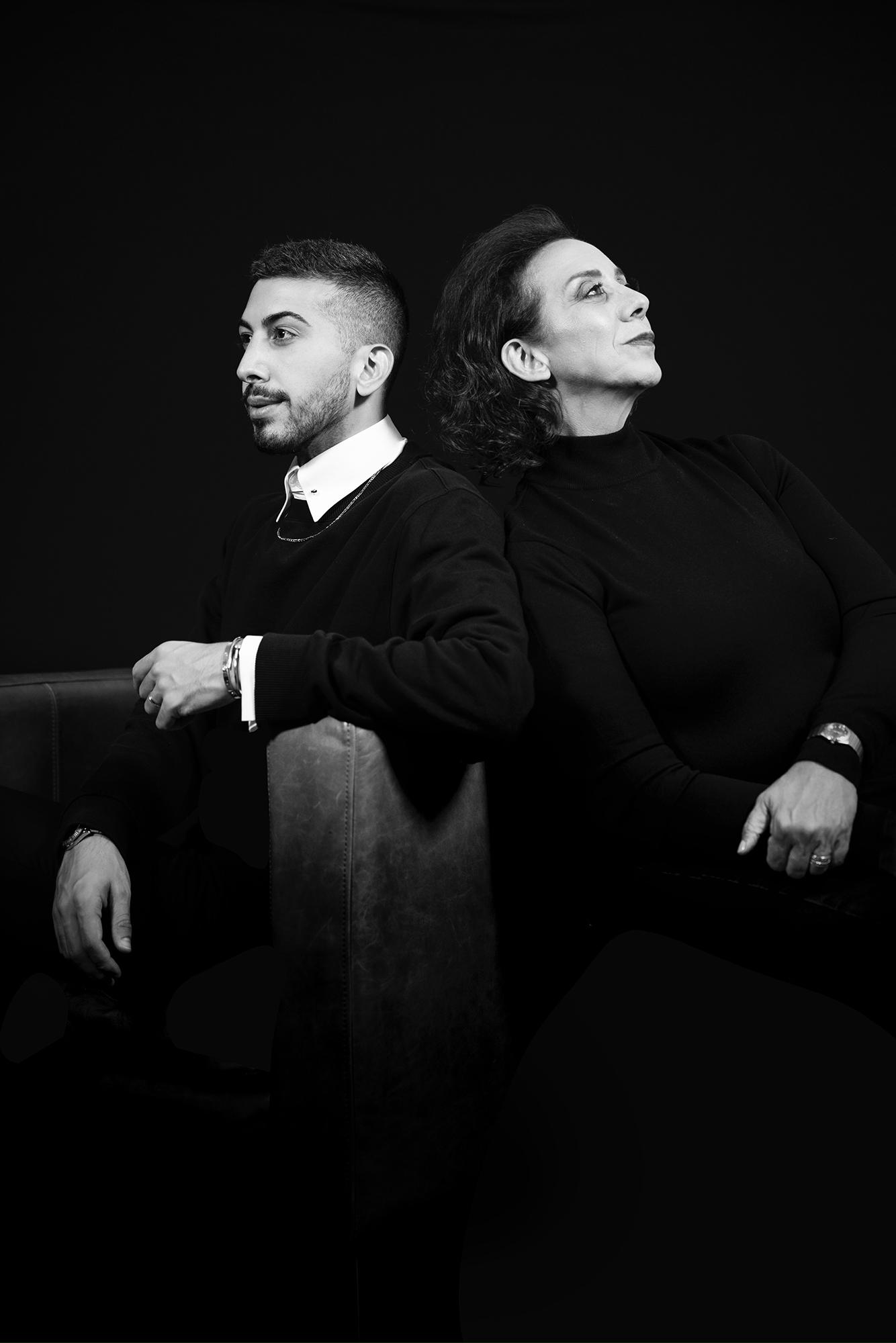 Black and White Portrait Shoot, Shea Winter Roggio