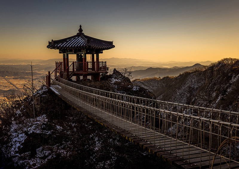 Geumosan Mountain in Gumi, South Korea by international travel photographer Shea Winter Roggio