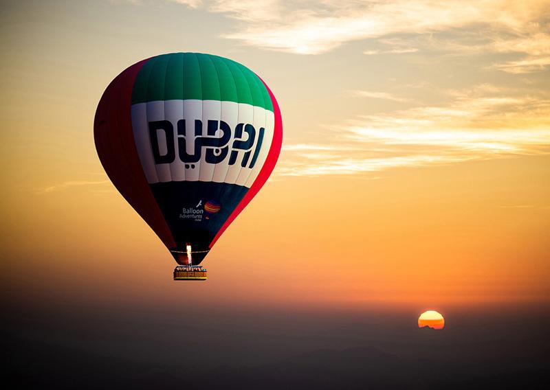 Dubai Hot Air Balloon By Shea Winter