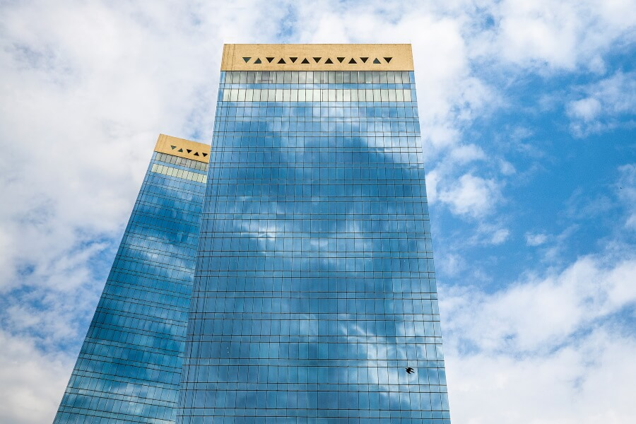 Building Reflection Abstract Fine Art Photography