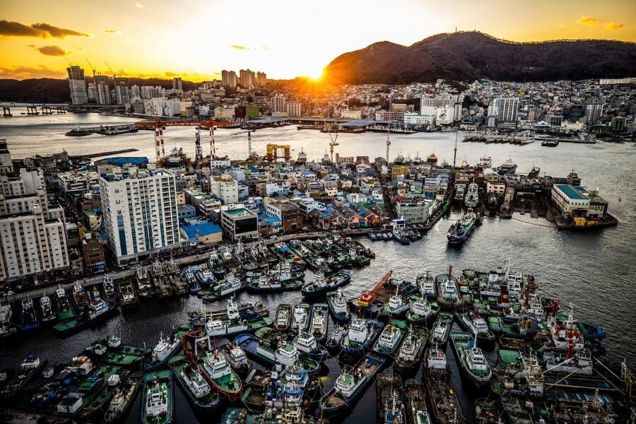 Busan South Korea Travel Photography
