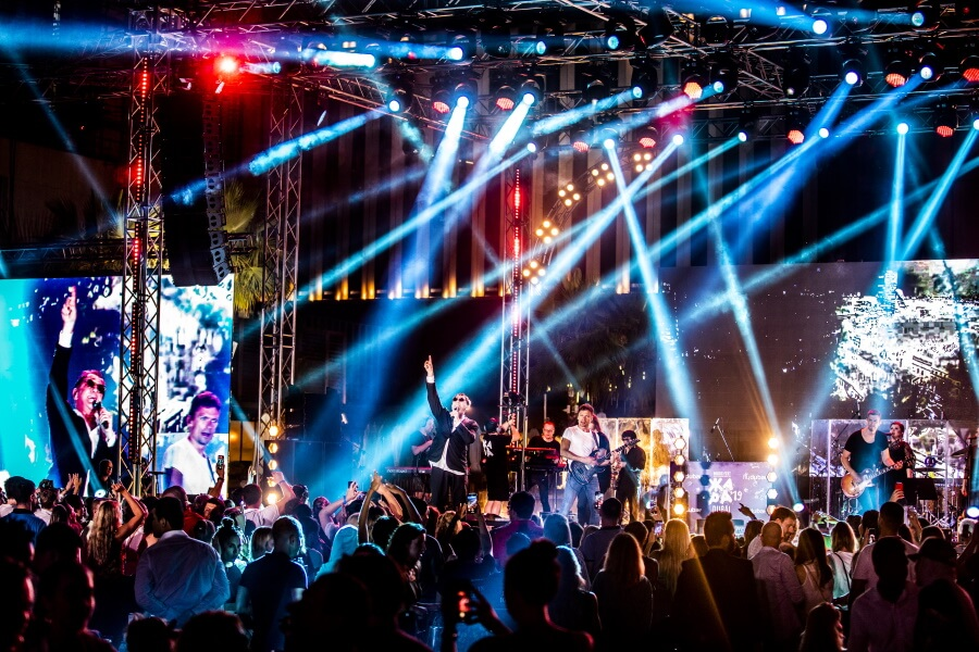 Concert And Light Show Event Photography