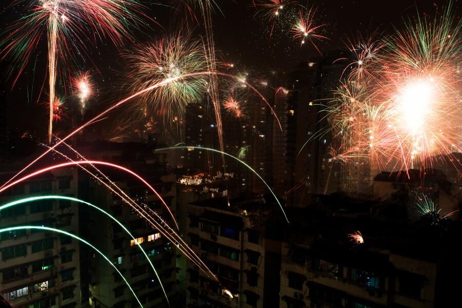 Fireworks Travel Photography