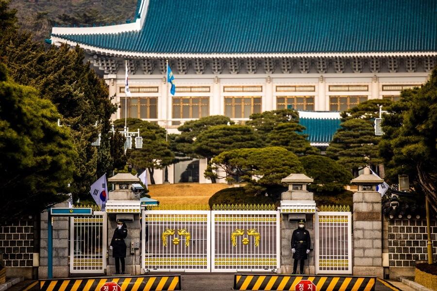 Guards South Korea Travel Photography