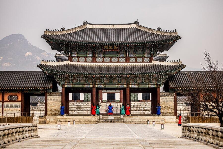 Gyongbokgung Palace South Korea Travel Photography