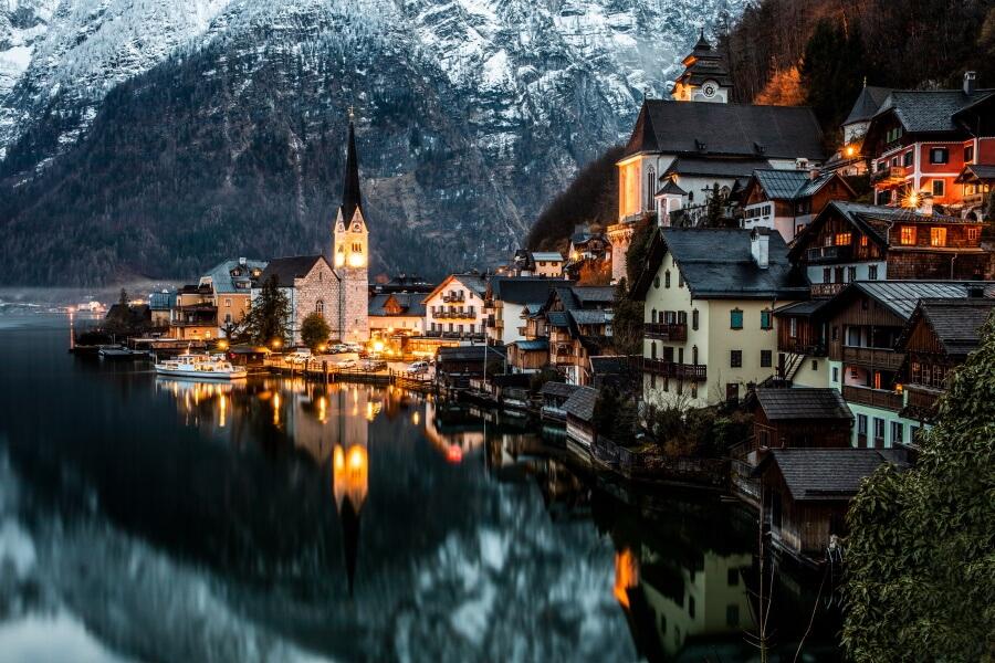 Hallstatt Austria Travel Photography