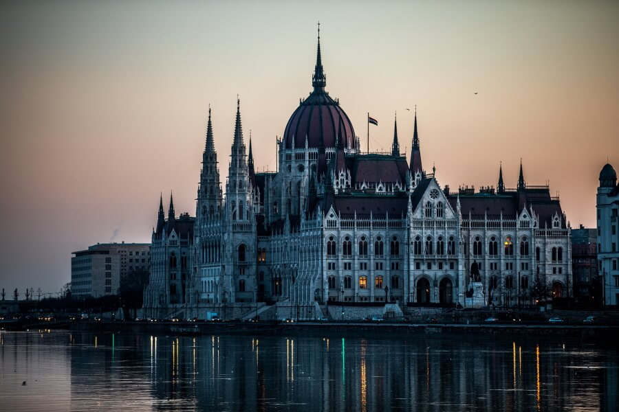 Hungarian Parliament Travel Photography