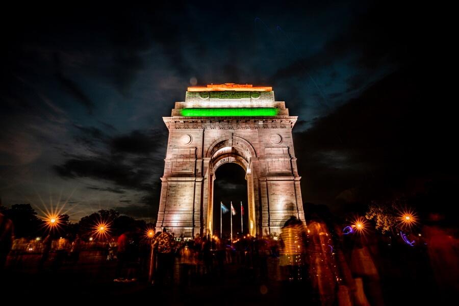India Gate New Delhi Travel Photography