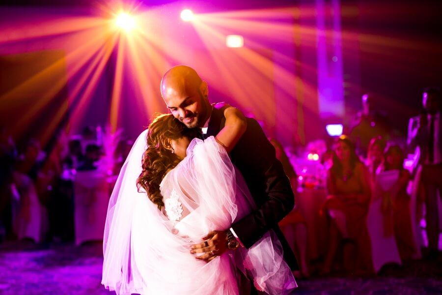 Married Couple Dancing Wedding Photography