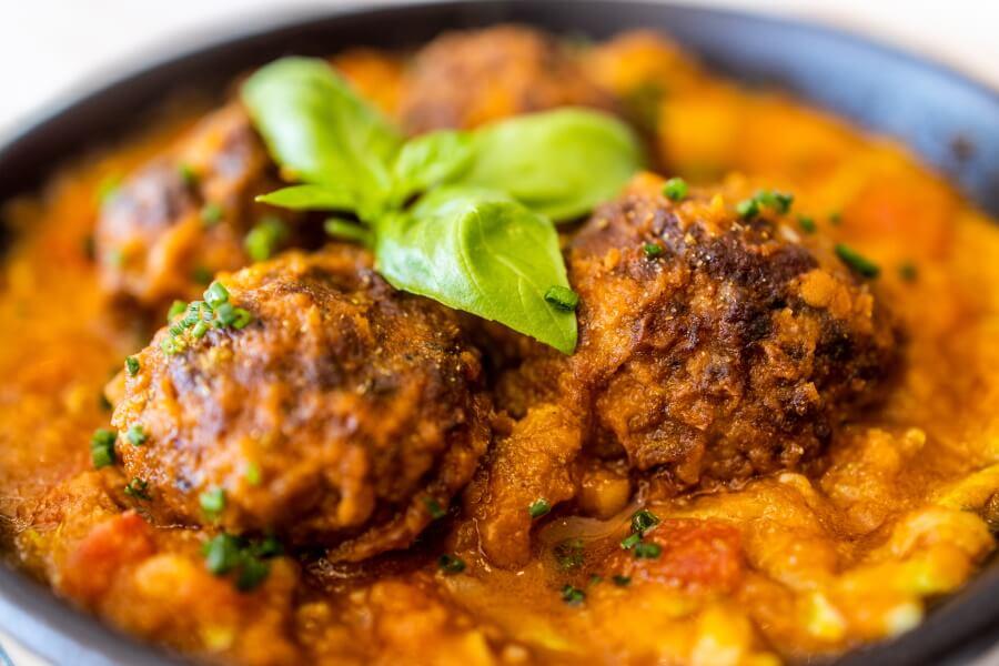 Meatballs Food Photography