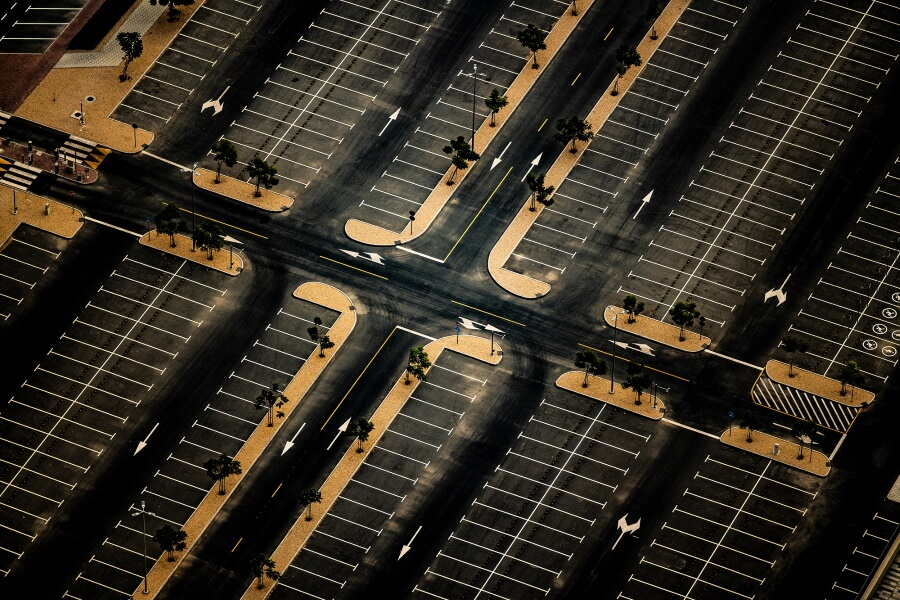 Parking Lot Abstract Fine Art Photography