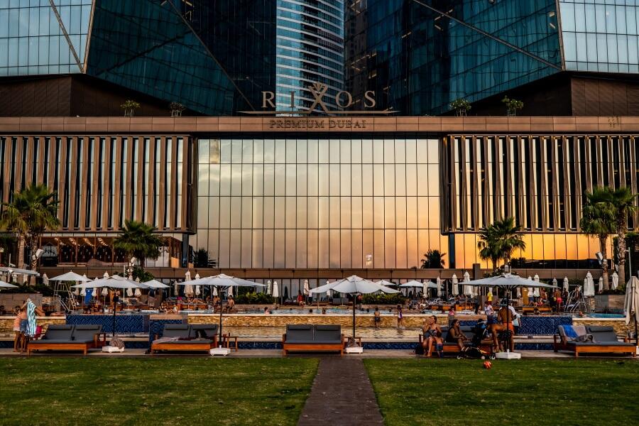 Rixos Premium Dubai Building Hotel Photography