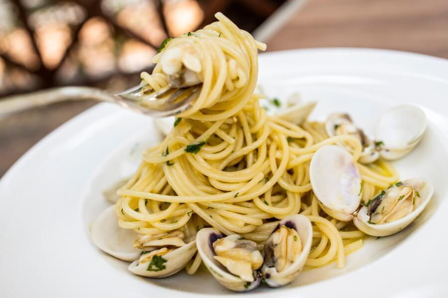 Shellfish Pasta Food Photography