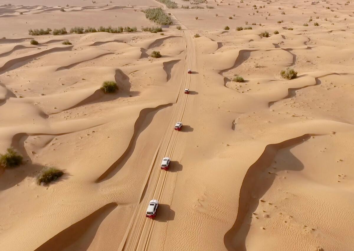Arabian Adventures Dubai Video Cinematography Cover