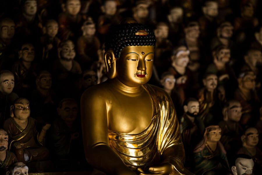 Buddha Temple South Korea