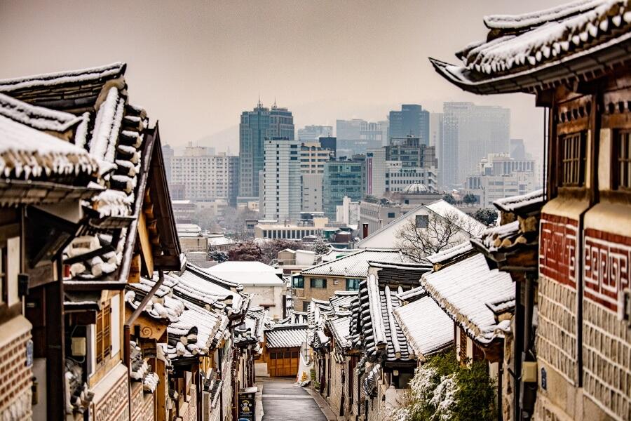 Bukchon Hanok Village South Korea