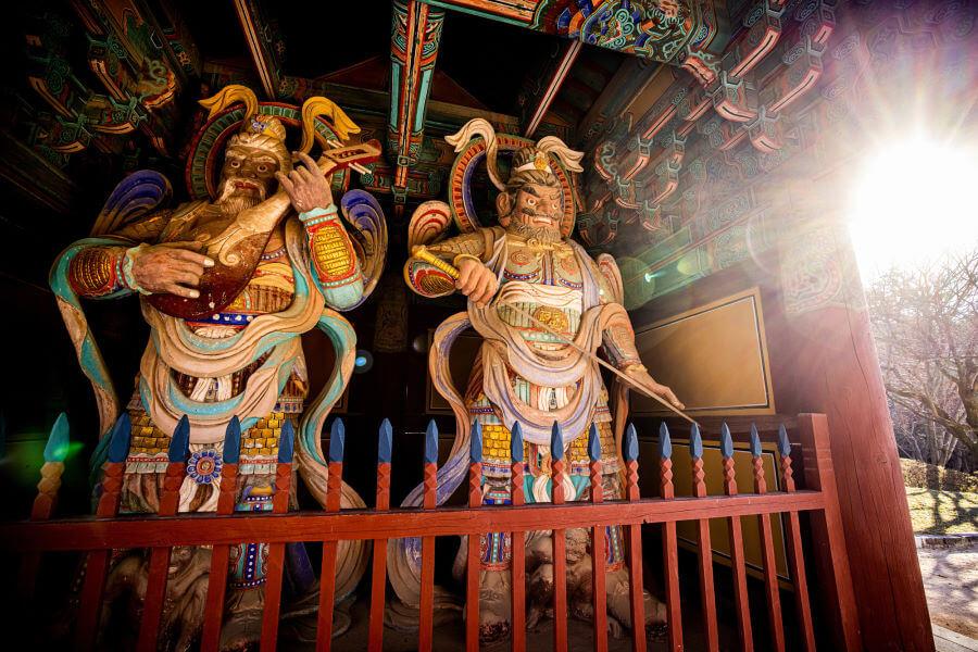 Bulgksa Temple In Gyeongju