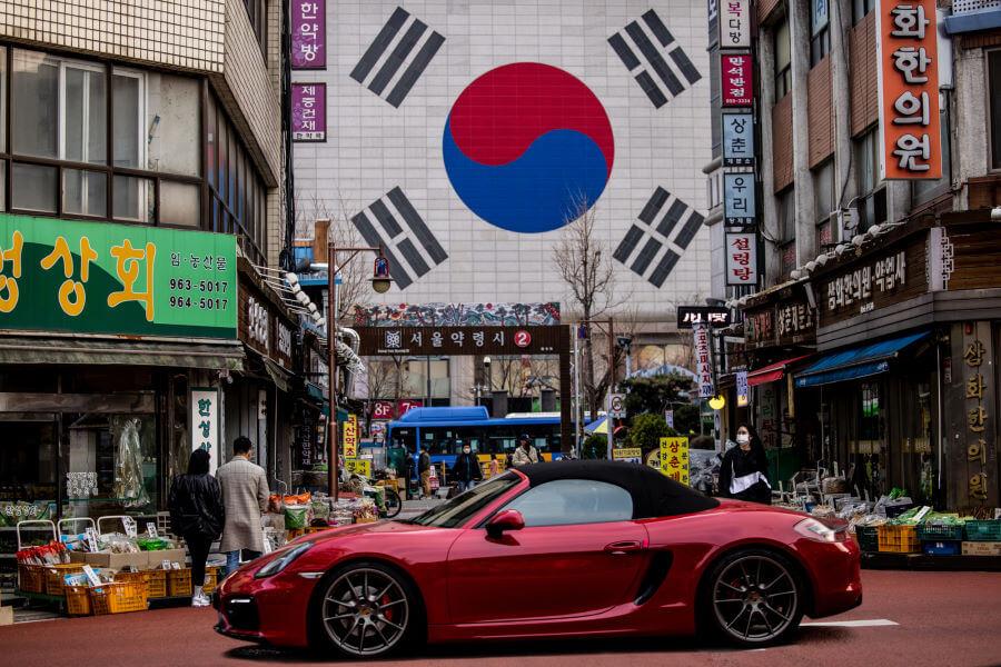 Car In Seoul