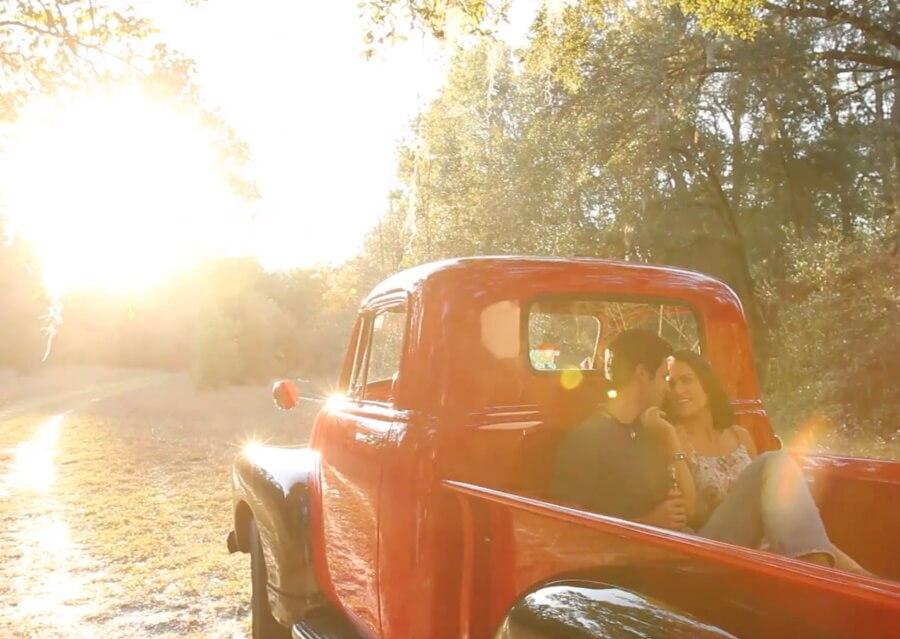Chris Crisman Behind the scenes Video red truck