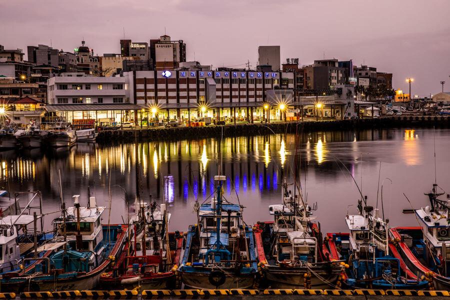 Jeju Island Ships