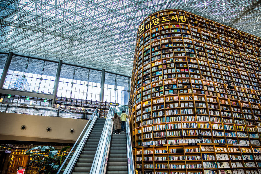 Starfield Library in Seoul