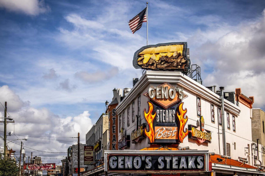 Pats And Genos Steaks