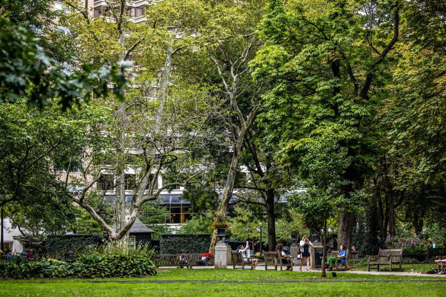 Rittenhouse Square Park Center City Philadelphia
