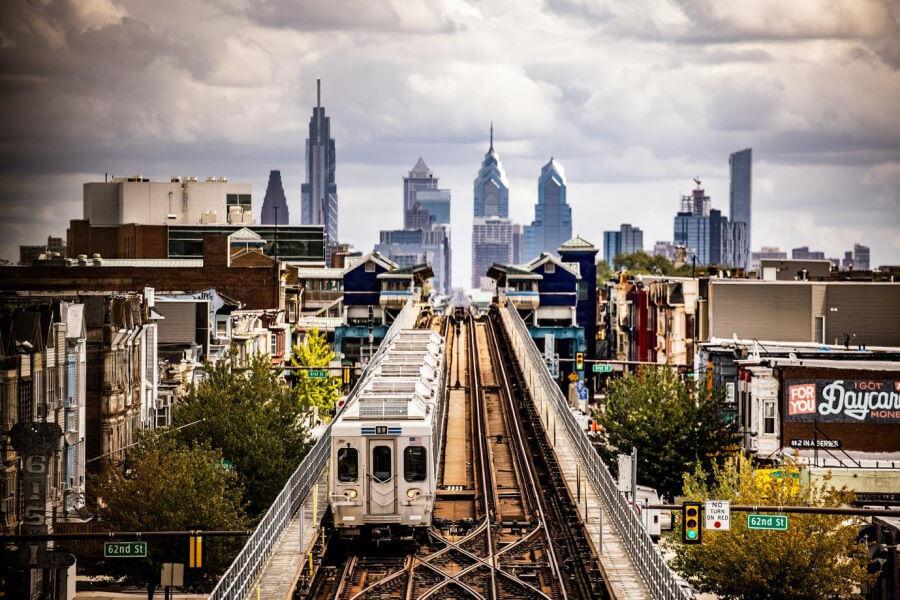 The El Train Philadelphia