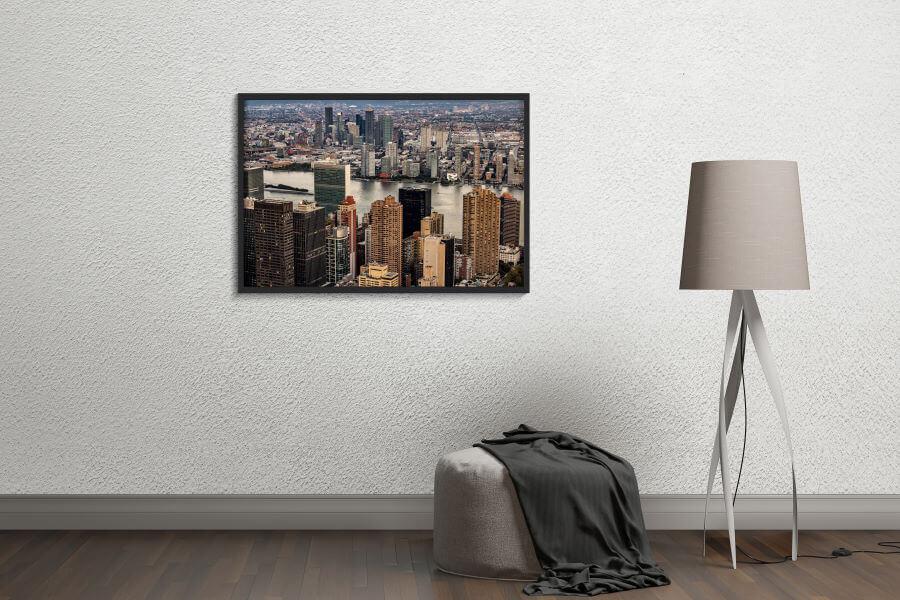 New York City Skyline Photography Print